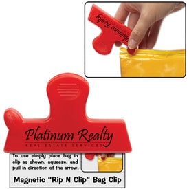 Magnetic Rip N Clip Bag Clip for your School