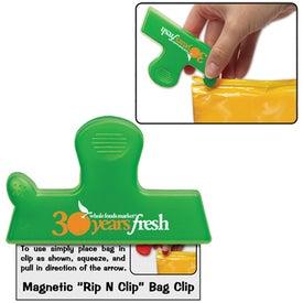Company Magnetic Rip N Clip Bag Clip