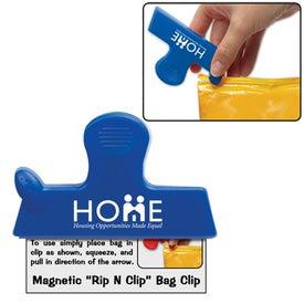 Magnetic Rip N Clip Bag Clip Giveaways