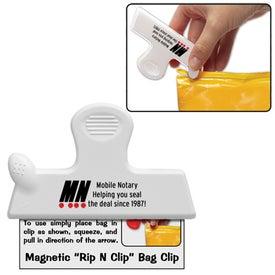 Printed Magnetic Rip N Clip Bag Clip