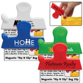 Magnetic Rip N Clip Bag Clip for Your Company