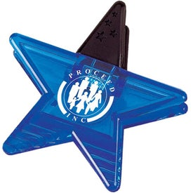 Magnetic Star Clip for Marketing