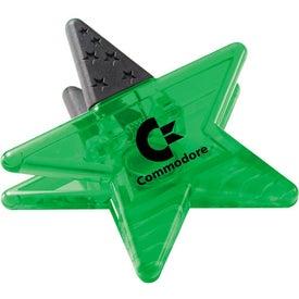 Magnetic Star Memo Clip for Promotion