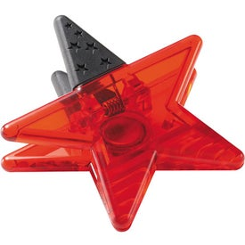 Magnetic Star Memo Clip Branded with Your Logo