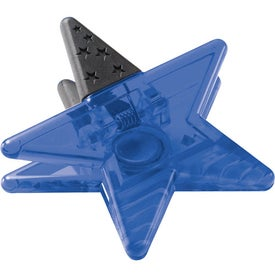 Magnetic Star Memo Clip Printed with Your Logo