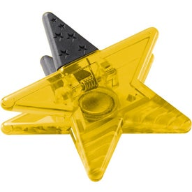 Magnetic Star Memo Clip for your School
