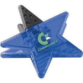 Magnetic Star Memo Clip for Marketing