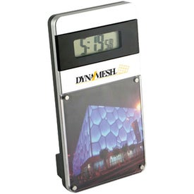 Magnetic Acrylic Photo Frame with Digital Clock for Your Church