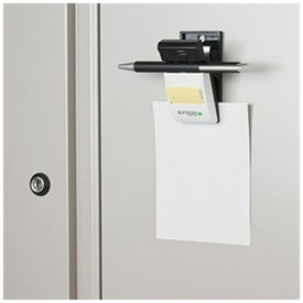 Magnetic Clip with Pen Holder and Sticky Notes Branded with Your Logo