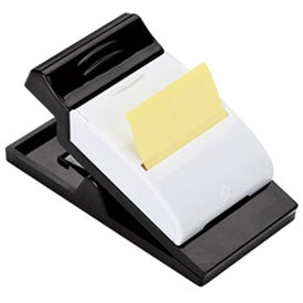 Magnetic Clip with Pen Holder and Sticky Notes with Your Slogan