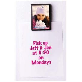 Promotional Magnetic Slip-In Photo Memo Clip