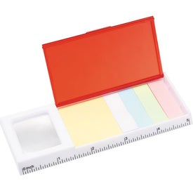 Magnifying Glass with Sticky Notes for Your Company