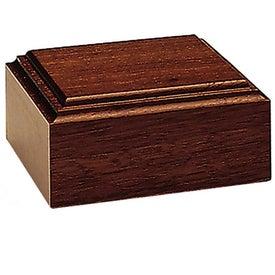Mahogany-Tone Wood Base (Unlighted)