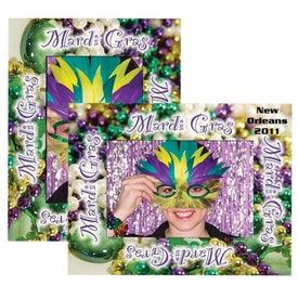 Mardi Gras Paper Easel Frames