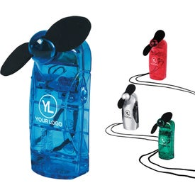 Maxi Mini Fan Branded with Your Logo