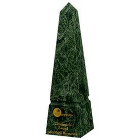 """Medium Verde Marble Plaque (10"""")"""