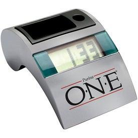 Personalized Metal Desktop Clock
