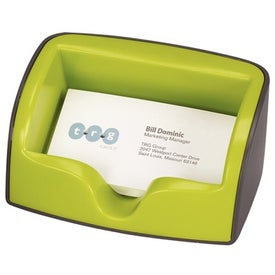 Imprinted Metro Business Card Holder