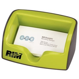Metro Business Card Holder Branded with Your Logo