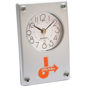 Metro Super Slim Clock