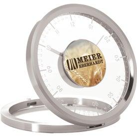 Metropolitan Desk Clock for Advertising