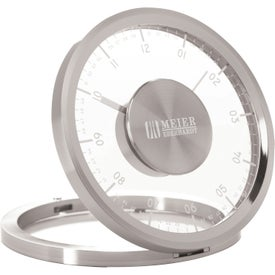 Metropolitan Desk Clock for Marketing