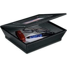 Personalized Metropolitan Leather Photo Box