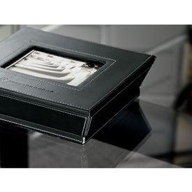 Imprinted Metropolitan Leather Photo Box