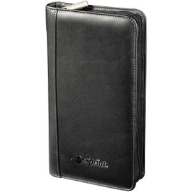 Millennium Leather Travel Wallet for Your Company