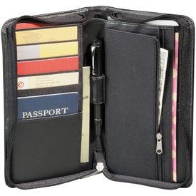 Millennium Leather Travel Wallet for Customization