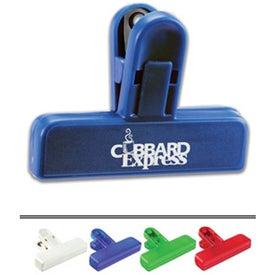 Customizable Mini Bag Clip