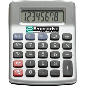 Imprinted Mini Desktop Calculator