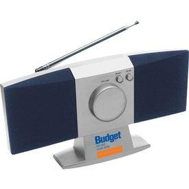 Printed Mini Desktop FM Scanner Radio