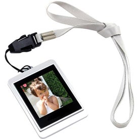 Logo Mini Digital Frame with Strap