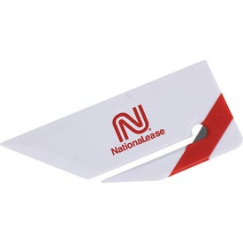 Mini Letter Opener with Ruler Imprinted with Your Logo