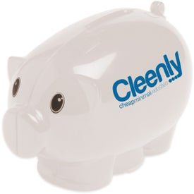 Mini Piggy Bank with Your Logo