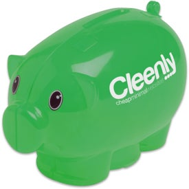 Mini Piggy Bank Printed with Your Logo