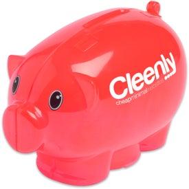 Mini Piggy Bank for Advertising