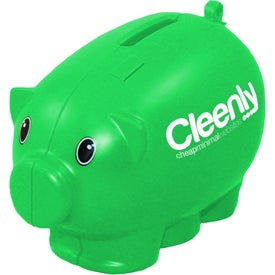 Mini Piggy Bank Imprinted with Your Logo