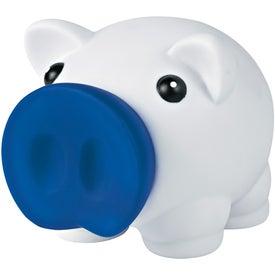 Monogrammed Mini Prosperous Piggy Bank