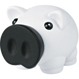 Printed Mini Prosperous Piggy Bank