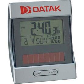 Branded Mini Solar Clock