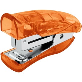 Logo Mini Stand-Up Stapler