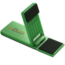 Logo Mobile Device Stand with Cleaner