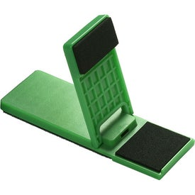 Personalized Mobile Device Stand with Cleaner