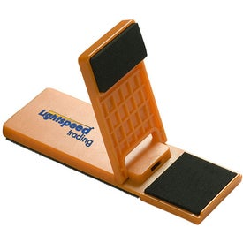 Mobile Device Stand with Cleaner for Your Company