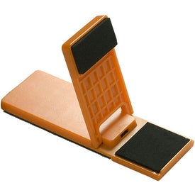 Mobile Device Stand with Cleaner with Your Slogan