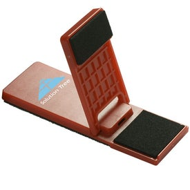 Mobile Device Stand with Cleaner with Your Logo