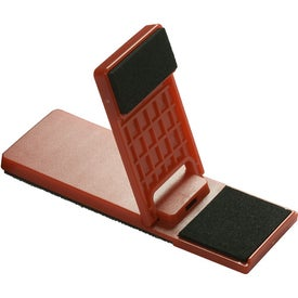 Mobile Device Stand with Cleaner for Promotion