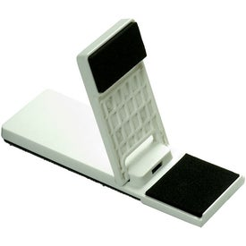 Custom Mobile Device Stand with Cleaner